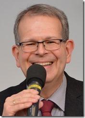 Swen Schönheit, Pfarrer der EKBO, hielt das Referat am Samstag